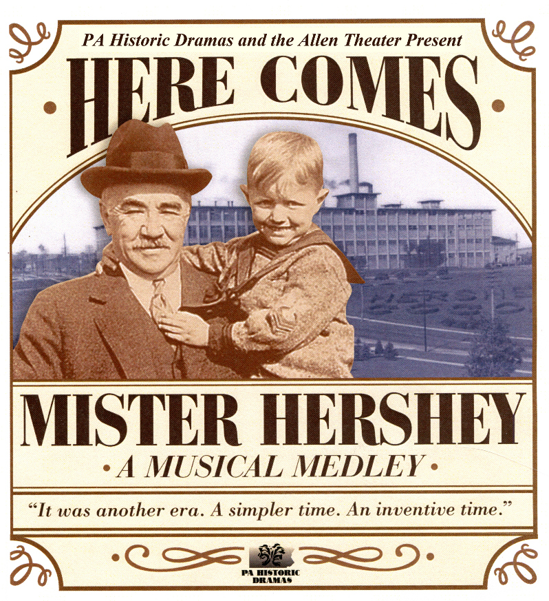 Here Comes Mr. Hershey Poster