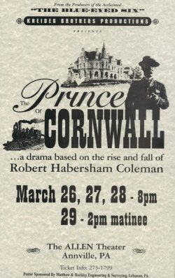 The Prince of Cornwall Poster